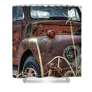Ford In A Field Shower Curtain
