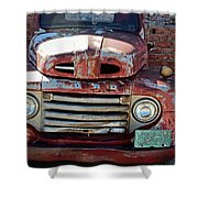 Ford In Goodland Shower Curtain