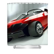 Ford Indigo Concept 2 Shower Curtain