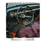 Ford Interior Shower Curtain