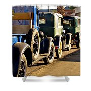 Ford Lineup Shower Curtain