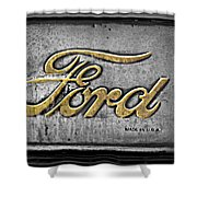 Ford Made In The Usa Shower Curtain