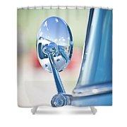Ford Mirror Shower Curtain