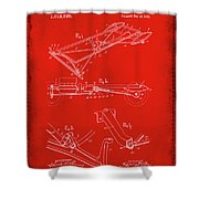 Ford Motor Vehicle Drawing 1e Shower Curtain