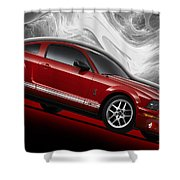 Ford Mustang Gt 500 3 Shower Curtain