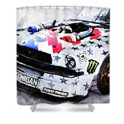 Ford Mustang Hoonicorn - 04 Shower Curtain