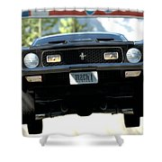 Ford Mustang Mach 1 Shower Curtain