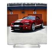 Ford Mustang Shelby Gt500 Shower Curtain