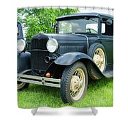 Ford Pickup Shower Curtain