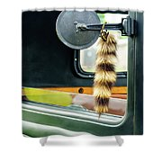 Ford Pickup Ornament Shower Curtain