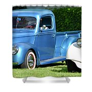 Ford Pickups Shower Curtain