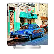 Ford Power Shower Curtain