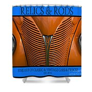 Ford 14 - Relics And Rods Shower Curtain