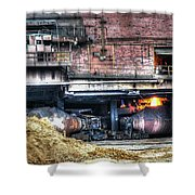 Ford Rouge Plant Steelmill Shower Curtain