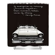 Ford Success Poster Shower Curtain