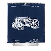 Ford Tractor Patent 1919 Shower Curtain