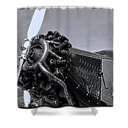 Ford Tri-motor 3 Shower Curtain