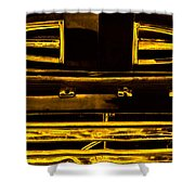 Fords Golden Truck Shower Curtain