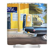 Fords Only  Shower Curtain