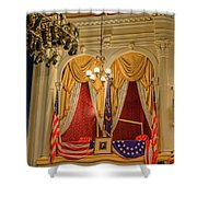 Ford's Theatre President's Box Shower Curtain