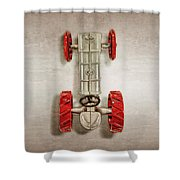 Fordson Tractor Top Shower Curtain
