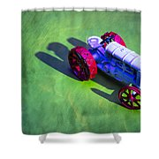 Fordson Tractor Toy 1 Shower Curtain
