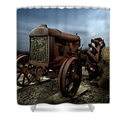 Fordson Tractor Shower Curtain