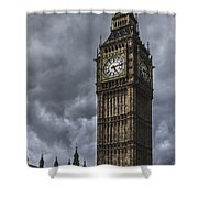 Foreboding Shower Curtain