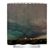 Foreboding Skies Shower Curtain