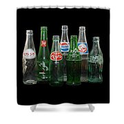 Foreign Cola Bottles Shower Curtain