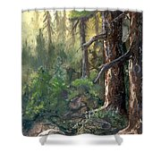 Forest Deep Shower Curtain