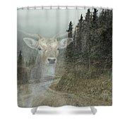 Forest Dweller Shower Curtain