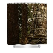 Forest Face Shower Curtain