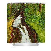 Forest Fall Shower Curtain