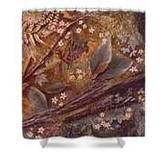 Forest Floor Shower Curtain