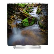 Forest Flow Shower Curtain