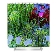 Forest Flowers Different One Shower Curtain