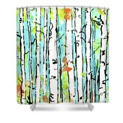 Forest For The Trees 2 Shower Curtain