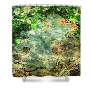 Forest Gathering Shower Curtain