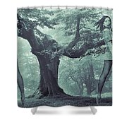 Forest Harmony Shower Curtain
