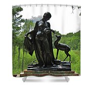 Forest Idyl  Shower Curtain