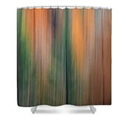 Forest Illusions -autumn Pastels Shower Curtain