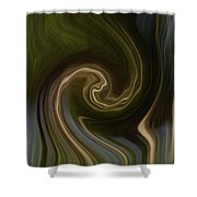 Forest Illusions-whispers On The Wind Shower Curtain
