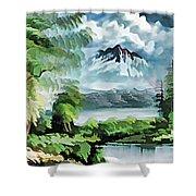 Forest Impression 18 Shower Curtain