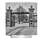 Forest Lawn Gate 4391 Shower Curtain