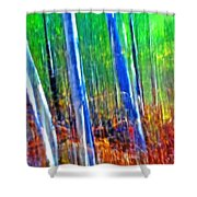 Forest Magic Shower Curtain