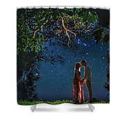 Forest Mingle Shower Curtain