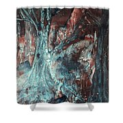 Forest Of A Different Color Shower Curtain