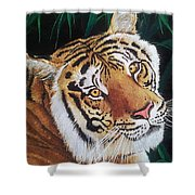 Forest Of The Night Shower Curtain
