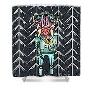 Forest Spirit, Forest Keeper Shower Curtain